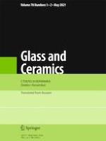 Glass and Ceramics 1-2/2021