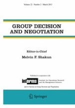 Group Decision and Negotiation 2/2013