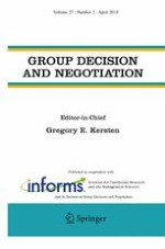 Group Decision and Negotiation 2/2018