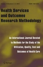 Health Services and Outcomes Research Methodology 1-2/2016