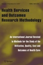 Health Services and Outcomes Research Methodology 3-4/2017