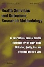 Health Services and Outcomes Research Methodology 2-3/2019