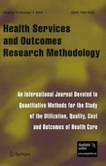 Health Services and Outcomes Research Methodology 3-4/2001