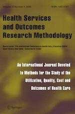 Health Services and Outcomes Research Methodology 4/2020