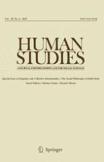 Human Studies 4/2015
