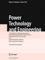 Power Technology and Engineering 6/2018