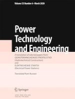 Power Technology and Engineering 6/2020