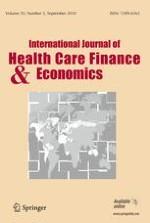 International Journal of Health Economics and Management 3/2010