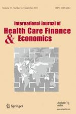 International Journal of Health Economics and Management 4/2011