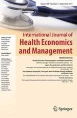 International Journal of Health Economics and Management 3/2015