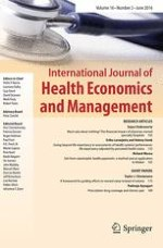International Journal of Health Economics and Management 2/2016
