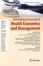 International Journal of Health Economics and Management 1/2017