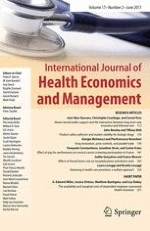 International Journal of Health Economics and Management 2/2017