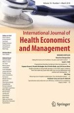 International Journal of Health Economics and Management 1/2018