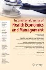 International Journal of Health Economics and Management 1/2019
