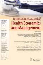 International Journal of Health Economics and Management 3/2020