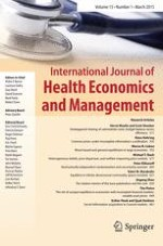 International Journal of Health Economics and Management 4/2004