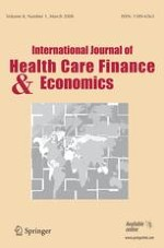 International Journal of Health Economics and Management 1/2008