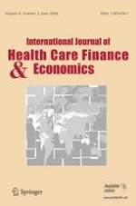 International Journal of Health Economics and Management 2/2008