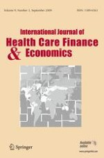 International Journal of Health Economics and Management 3/2009