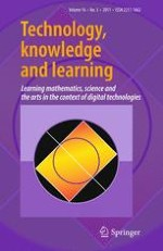 Technology, Knowledge and Learning 3/2011