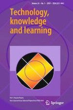 Technology, Knowledge and Learning 1/2019
