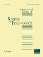 International Journal of Speech Technology 1/2009