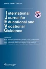 International Journal for Educational and Vocational Guidance 1/2016