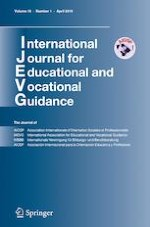 International Journal for Educational and Vocational Guidance 1/2019