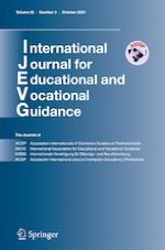 International Journal for Educational and Vocational Guidance 3/2020