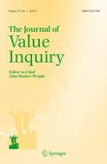 The Journal of Value Inquiry 1/2017