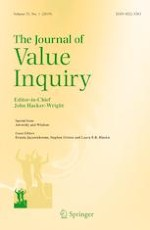The Journal of Value Inquiry 3/2019