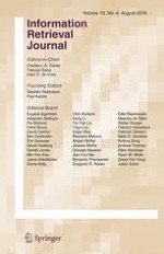 Information Retrieval Journal 4/2016