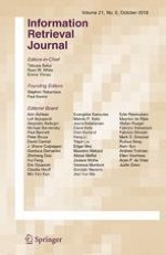 Information Retrieval Journal 5/2018
