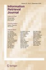 Information Retrieval Journal 6/2018