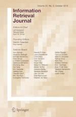 Information Retrieval Journal 5/2019