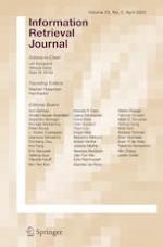 Information Retrieval Journal 2/2020