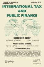 International Tax and Public Finance 6/2009