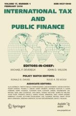 International Tax and Public Finance 1/2010