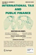 International Tax and Public Finance 3/2011