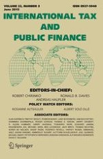 International Tax and Public Finance 3/2015
