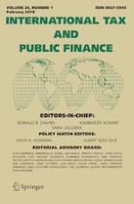 International Tax and Public Finance 1/2019