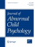 Journal of Abnormal Child Psychology 3/2006