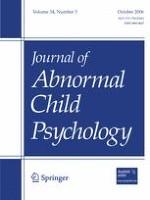 Journal of Abnormal Child Psychology 5/2006