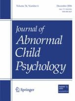 Journal of Abnormal Child Psychology 6/2006