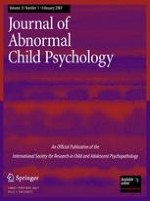 Journal of Abnormal Child Psychology 1/2007
