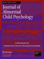 Journal of Abnormal Child Psychology 4/2013