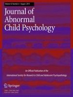 Journal of Abnormal Child Psychology 6/2014