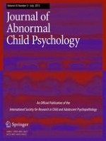 Journal of Abnormal Child Psychology 5/2015