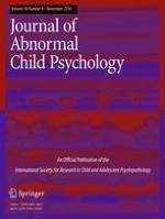 Journal of Abnormal Child Psychology 8/2016